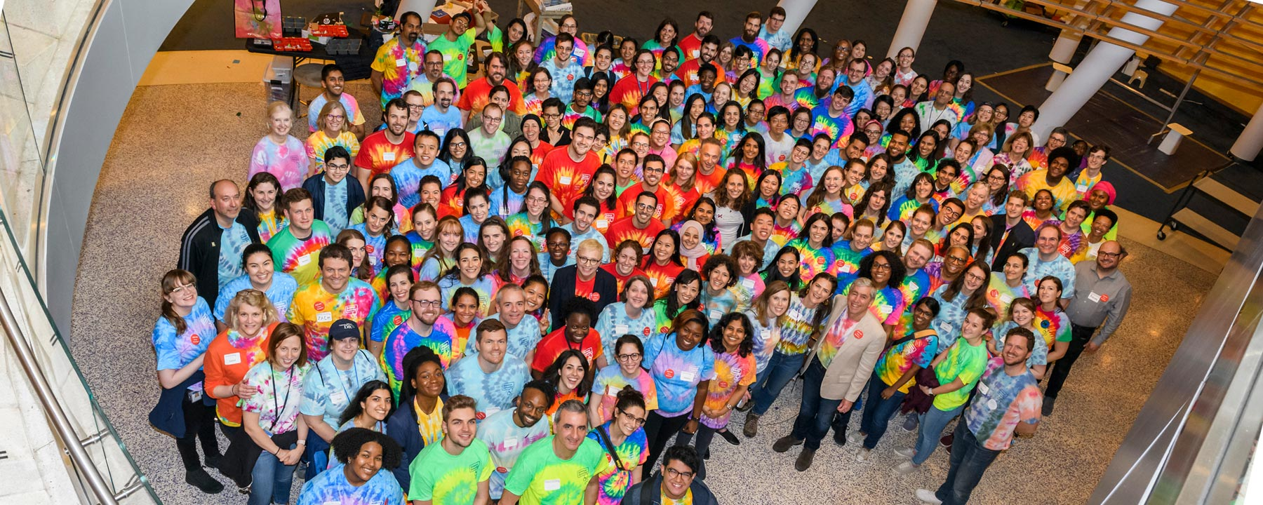 Science Saturday Scientist Volunteers, 2019, Photo credit Scott Rudd Photography